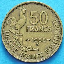 Франция 50 франков 1951-1953 год. Монетный двор Бомон-ле-Роже.