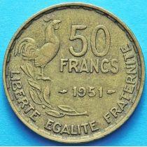Франция 50 франков 1951-1953 год. Монетный двор Париж.