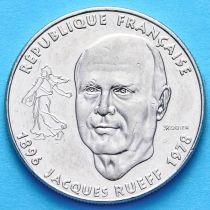 Франция 1 франк 1996 год. 100 лет со дня рождения Жака Рюэфа
