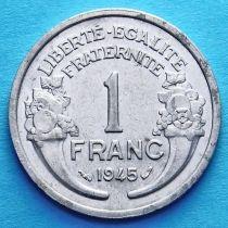 Франция 1 франк 1941-1959 год. Париж. KM# 885a.