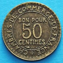 Франция 50 сантимов 1929 год.