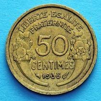 Франция 50 сантимов 1931-1941 год.