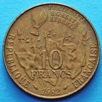 Франция 10 франков 1982 год. Леон Гамбетта.