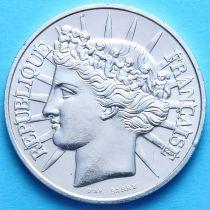 Франция 100 франков 1988 г. Серебро