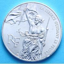 Франция 100 франков 1993 г. Серебро. Лувру 200 Лет