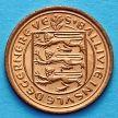 Монета Гернси 1/2 пенни 1971 год.