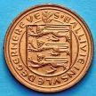 Монета Гернси 1 пенни 1971 год.