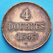 Гернси 4 дубля 1949 год.