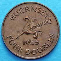 Гернси 4 дубля 1956 год.