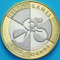 Гибралтар 2 фунта 2019 год. Островные игры АВ