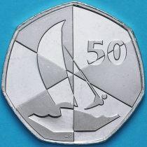Гибралтар 50 пенсов 2019 год. Островные игры. АС