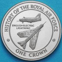 Гибралтар 1 крона 2008 год. Инглиш Электрик