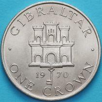 Гибралтар 1 крона 1970 год.