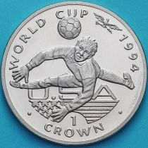 Гибралтар 1 крона 1994 год. ЧМ по футболу. Вратарь.
