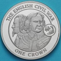 Гибралтар 1 крона 2008 год. Гражданская война в Англии.