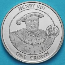 Гибралтар 1 крона 2008 год. Генрих VIII.