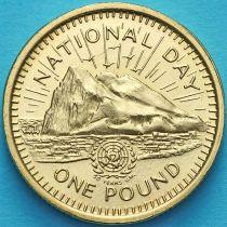 Гибралтар 1 фунт 1995 год. 50 лет ООН.