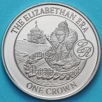 Гибралтар 1 крона 2008 год. Зра Елизаветы.