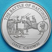 Гибралтар 1 крона 2008 год. Битва при Гастингсе.