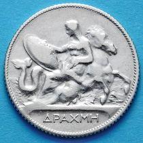 Греция 1 драхма 1911 год. Серебро. №1