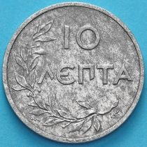 Греция 10 лепт 1922 год.