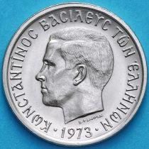 Греция 2 драхмы 1973 год. Черные полковники
