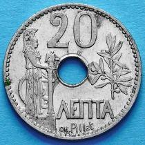 Греция 20 лепт 1912 год. Богиня Афина.