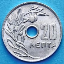 Греция 20 лепт 1969 год