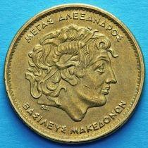 Греция 100 драхм 2000 год. Александр Македонский.