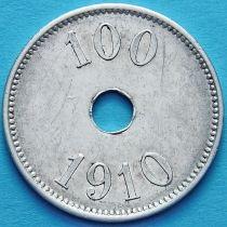 Гренландия 100 эре 1910 год.