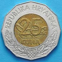 Хорватия 25 кун 1999 год. Европейский Союз.