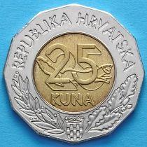 Хорватия 25 кун 1997 год. Первый Хорватский конгресс эсперанто.