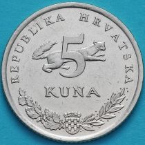 Хорватия 5 кун 1996-1998 год.