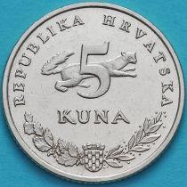 Хорватия 5 кун 2001-2011 год.
