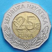 Хорватия 25 кун 1998 год. Лиссабон ЭКСПО.