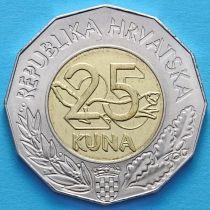 Хорватия 25 кун 2013 год. Вступление Хорватии в ЕС.