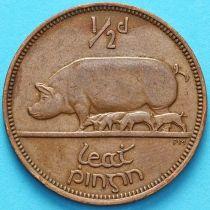 Ирландия 1/2 пенни 1942 год. Свинья.