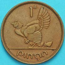 Ирландия 1 пенни 1946 год. Курица.