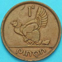 Ирландия 1 пенни 1948 год. Курица.