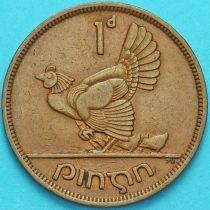 Ирландия 1 пенни 1949 год. Курица.