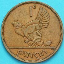 Ирландия 1 пенни 1950 год. Курица.