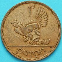 Ирландия 1 пенни 1964 год. Курица.