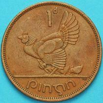 Ирландия 1 пенни 1965 год. Курица.
