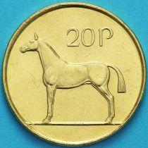 Ирландия 20 пенсов 1999 год. Ирландская охотничья лошадь. UNC