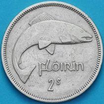 Ирландия 2 шиллинга (флорин) 1962 год. Атлантический лосось.