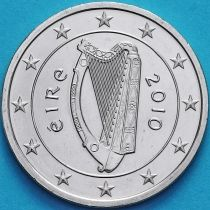 Ирландия 2 евро 2010 год. Брак.