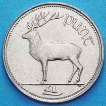 Ирландия 1 фунт 1990-1998 год. Олень. UNC.