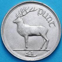 Ирландия 1 фунт 1990 год. Олень. UNC