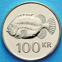Исландия 100 крон 2007 год. Рыба Пинагора