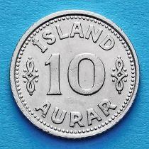 Исландия 10 эйре 1940 год.